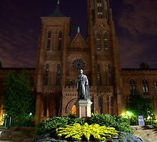 Smithsonian Castle by Chuck Chisler