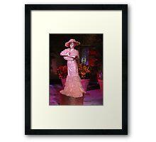Living Statue Framed Print