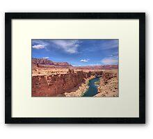 Colours of Arizona Framed Print