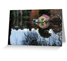 The Lake House, Daylesford. Greeting Card