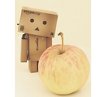Danbo - a apple a day keeps the doctor away Photographic Print