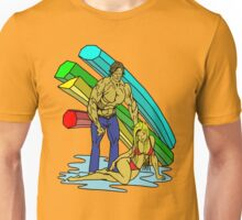 Beauty and the Brawn Unisex T-Shirt