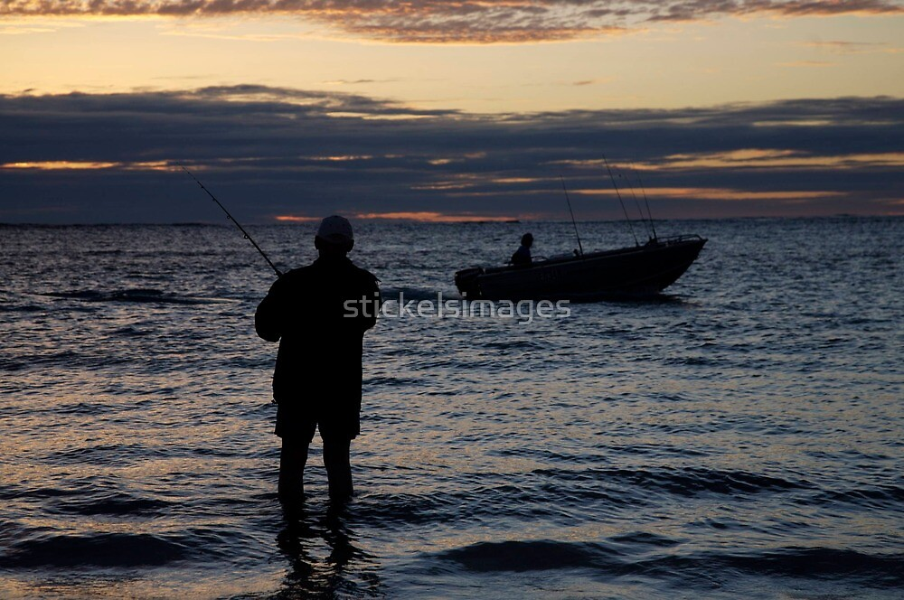 seascapes #269, just fishin' by stickelsimages