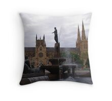 St Marys' Church, Sydney, Australia Throw Pillow