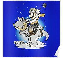 Mario Star Wars Poster