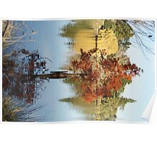 Autumn Beauty Reflected Poster