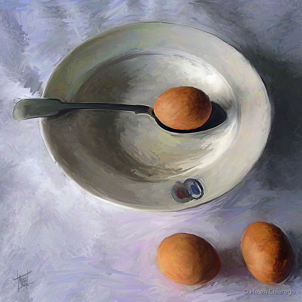 The Dish Ran Away With The Egg and Spoon by © Helen Chierego