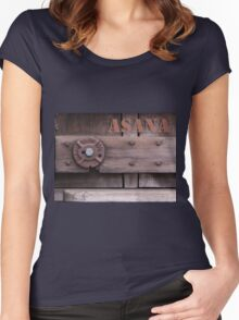 Rustic Asana Women's Fitted Scoop T-Shirt