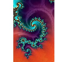 Hot Fractal 2 Photographic Print