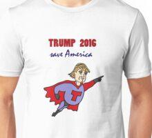 Funny Donald Trump Super Hero Unisex T-Shirt