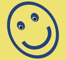 Blue Smiley 001 Kids Clothes