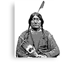 BIG LOOKING GLASS-COMANCHE Canvas Print