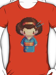 blue geisha T-Shirt