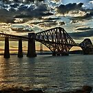 Forth Bridge HDR by tayforth