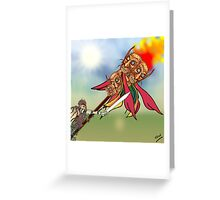Conquest of the Goblins Greeting Card