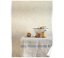 colender and pears Poster