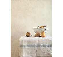 colender and pears Photographic Print