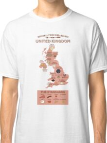 Regional Fried Breakfasts of the United Kingdom Classic T-Shirt