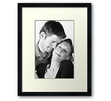 For The Love Of Each Other Framed Print