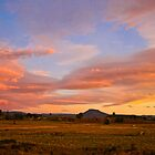 Deloraine Sunset by Madeleine  Biancon