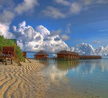 Meerufenfushi island Morning View by michellebgphoto