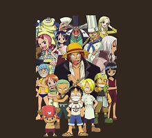 one piece straw hat kids luffy zoro nami anime manga shirt T-Shirt