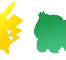 Pokemon Classic Starters by Kesulo