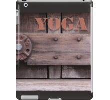 Rustic Yoga iPad Case/Skin