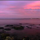 Devonport River Mouth Sunset by Damon Colbeck