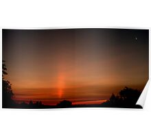 Mother Natures Morning Search Light... Poster