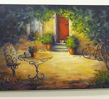 The red door by Ivana Pinaffo