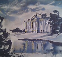'Lyme Park (Pemberley)' by Martin Williamson (©cobbybrook)