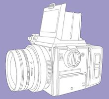 Medium format camera by Richard Heyes