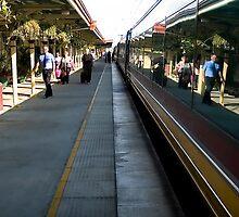Queensland Tilt Train Mirror (Bundaberg) © Vicki Ferrari Photography by Vicki Ferrari