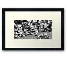 One hundred and one books about Che Guevara Framed Print