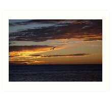 seascapes #270, painted Art Print