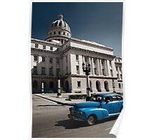 Capitolio Nacional, Havana Cuba Poster