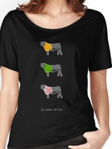 Les Vaches du Tour - dark Women's Relaxed Fit T-Shirt