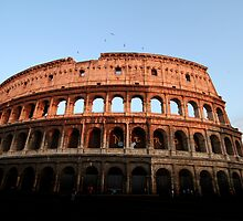 Colosseum at Sunset by Samantha Higgs