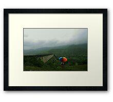 Monsoon Beauty Framed Print