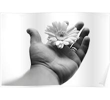Handy Flower Poster