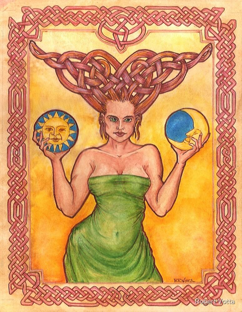 Celtic Goddess by Robert Votta