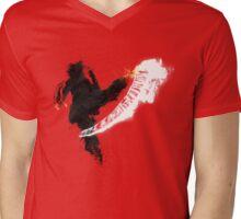 Get Bent :: Fire Mens V-Neck T-Shirt
