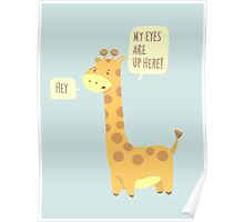 Giraffe Problems! Poster