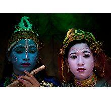 Radha Krishna - The Immortal Love Legends (INDIA) Photographic Print