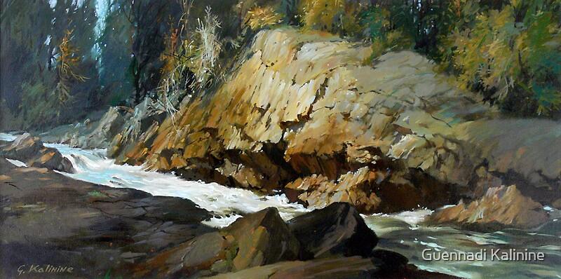 Ivanhoe River. by Guennadi Kalinine