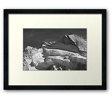 Dent d;Herens Framed Print