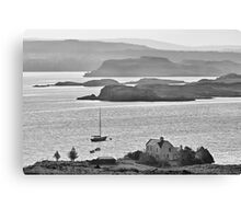 Loch Dunvegan from Colbost, Isle of Skye Canvas Print