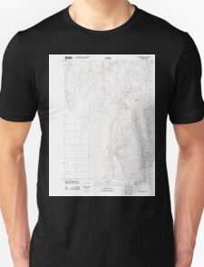 USGS Topo Map Oregon Mahon Creek 20110831 TM T-Shirt