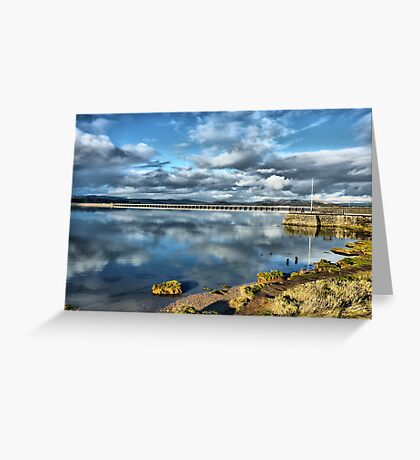 Kent Viaduct and Arnside Pier Greeting Card